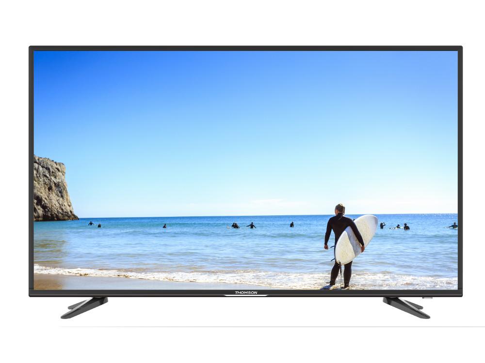 Телевизор LED 49 Thomson T49FSE1100 Черный, Full HD, DVB-T2, HDMI, USB original dvb t satlink ws 6990 terrestrial finder 1 route dvb t modulator av hdmi ws 6990 satlink 6990 digital meter finder
