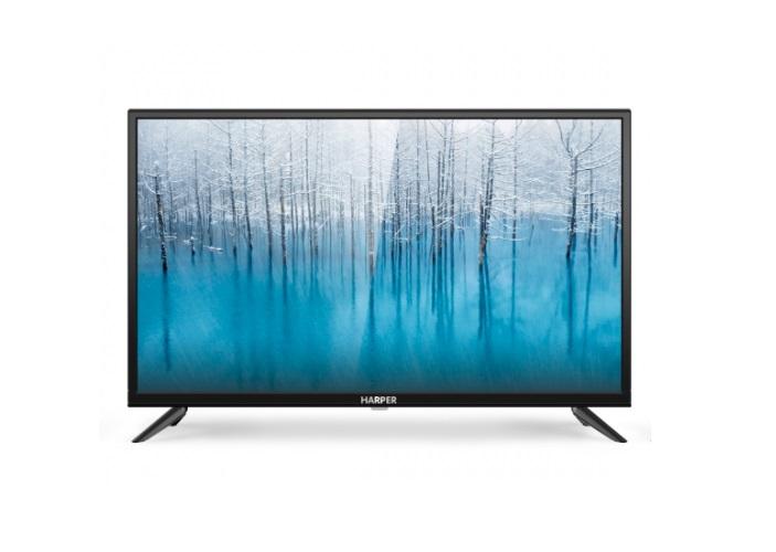 Телевизор Harper 32R670T LED 32 Black, 16:9, 1366x768, 70000:1, 230 кд/м2, USB, 2xHDMI, AV, USB, DVB-T, T2, C, S2 телевизор harper 32r660t led 32 black 16 9 1366x768 70000 1 230 кд м2 usb vga 3xhdmi av dvb t t2 c
