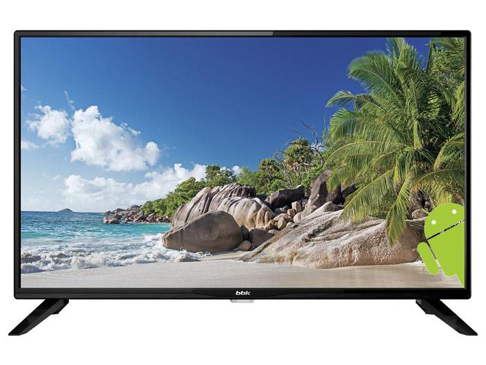 Телевизор BBK 32LEX-5045/T2C LED 32 Black, 16:9, 1366x768, 250 кд/м2, Smart TV, USB, HDMI, AV, RJ-45, Wi-Fi, DVB-T, T2, C