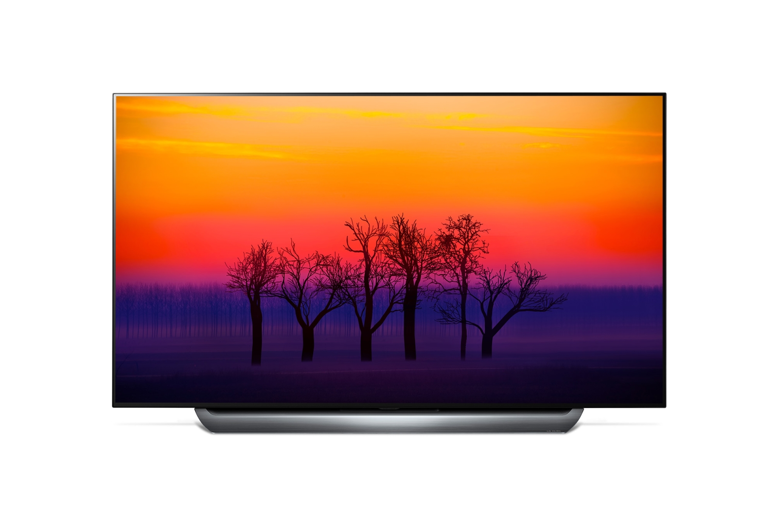Телевизор LG OLED55C8PLA OLED 55 Titanium, 16:9, 3840x2160, Smart TV, USB, 4xHDMI, RJ45, WiFi, DVB-T, T2, C, S, S2 smart video door phone intercom 720p wifi doorbell with rfid