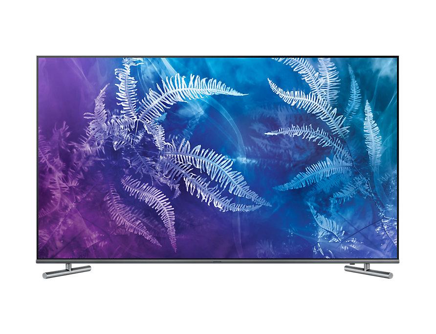 Телевизор Samsung QE55Q6FAMUXRU LED 55 Silver, 16:9, 3840x2160, Smart TV, 4xHDMI, USB, RJ-45, Wi-Fi, DVB-T2, C, S2 lefard фоторамка vortigern 3х37х43 см