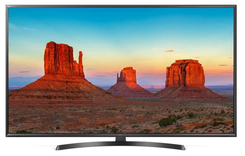 Телевизор LG 65UK6450 LED 65 Black, Smart TV, 16:9, 3840x2160, USB, 3xHDMI, AV, Wi-Fi, RJ-45, DVB-T, T2, C, S, S2 140f1142 devireg smart интеллектуальный с wi fi бежевый 16 а