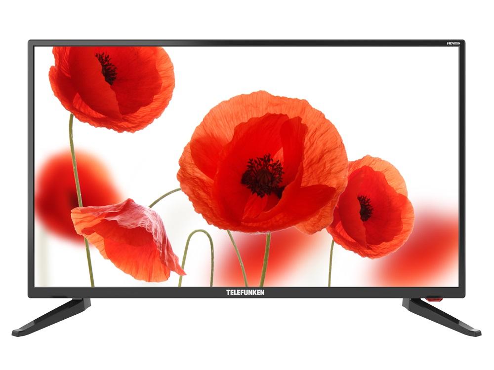 Телевизор Telefunken TF-LED32S65T2 LED 32 Black, 16:9, 1366x768, 2400:1, 250 кд/м2, AV, VGA, HDMI, USB, DVB-T, T2, C hdmi male to vga female av adapter converter w 3 5mm jack black