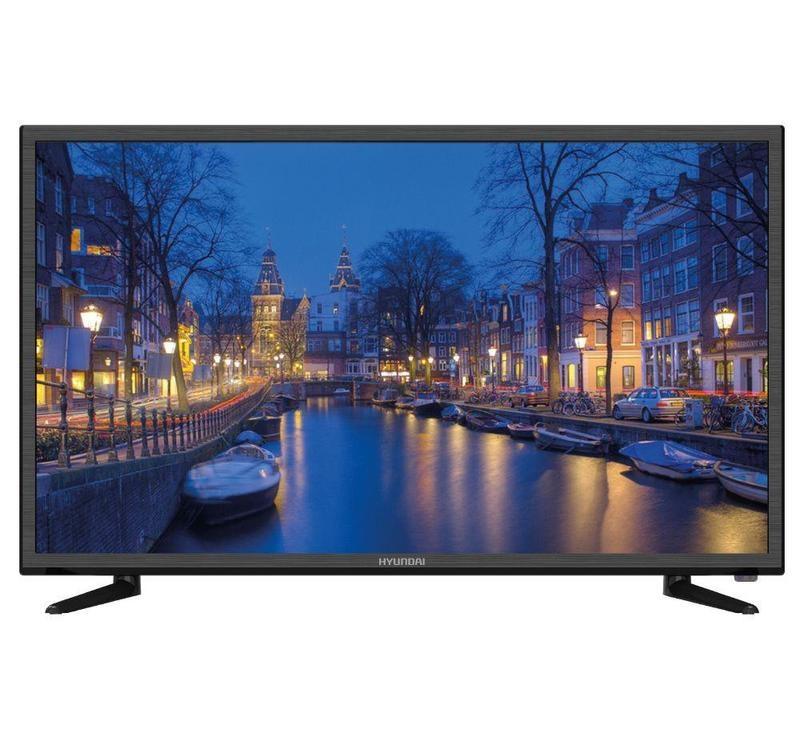 Телевизор Hyundai H-LED55F401BS2 LED 55 Black, 16:9, 1920x1080, 1200:1, 280 кд/м2, USB, VGA, 2xHDMI, DVB-T, T2, C, S2 телевизор hyundai h led19r401bs2