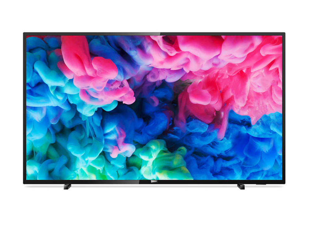 Телевизор LED Philips 55 55PUS6503/60 черный Ultra HD/900Hz/DVB-T/DVB-T2/DVB-C/USB/WiFi/Smart TV телевизор philips 32phs4132 60 черный