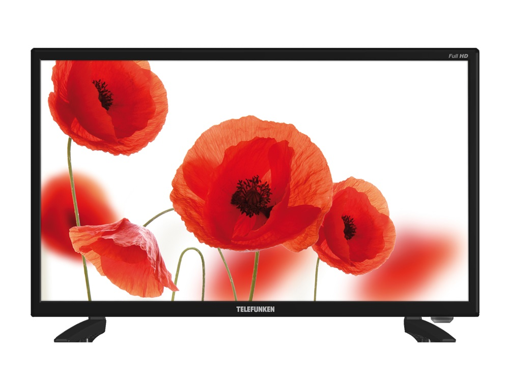 Телевизор TELEFUNKEN TF-LED22S67T2 LED 22 Black, 16:9, 1920x1080, 2400:1, 220 кд/м2, USB, VGA, HDMI, AV, DVB-T, T2, C ur52 new 1080p home theater multimedia lcd projector w av tv vga usb hdmi sd white