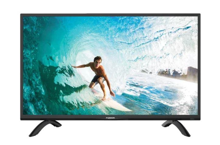 Телевизор FUSION FLTV-32C100T LED 32 Black, 16:9, 1366x768, 100000:1, 220 кд/м2, USB, VGA, 3xHDMI, AV, DVB-T2, C led телевизор fusion fltv 32a100t