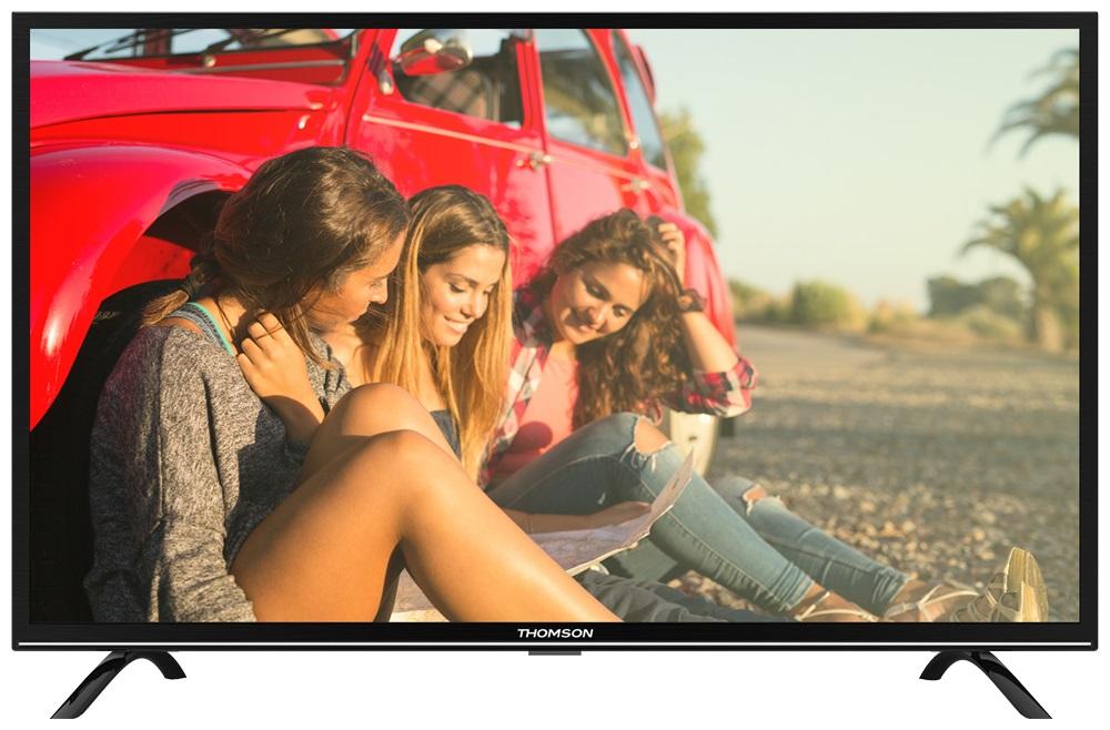 Телевизор Thomson T55FSE1170 LED 55 Black, 16:9, 1920x1080, USB, 3xHDMI, AV, DVB-T, T2, C, S, S2 телевизор led 55 thomson t55fsl5130