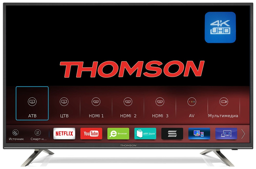 Телевизор LED 49 Thomson T49USM5200 телевизор led 55 thomson t55fsl5130