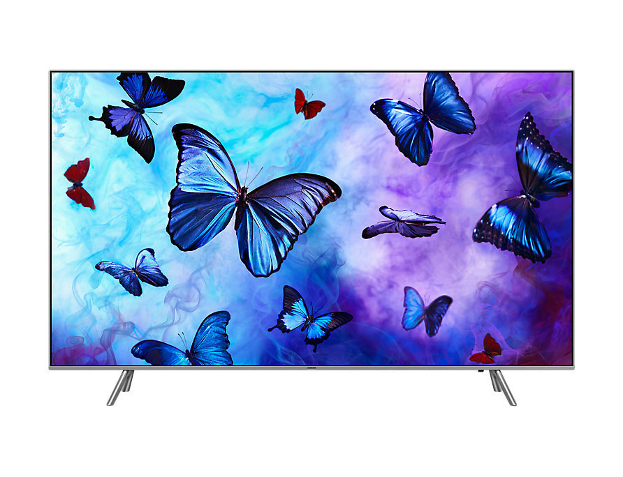 Телевизор Samsung QE49Q6FNAUXRU QLED  Black, 16:, 3840x2160, Smart TV, USB, 4xHDMI, RJ-45. Wi-Fi, DVB-T2, , S2