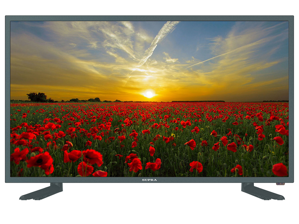 Телевизор Supra STV-LC32ST3003W LED 32 Grey, 16:9, 1366x768, Smart TV, 120000:1, 260 кд/м2, VGA, 3xHDMI, 2xUSB, Wi-Fi, RJ-45, DVB-T, T2, C вытяжка elikor интегра 45 крем крем