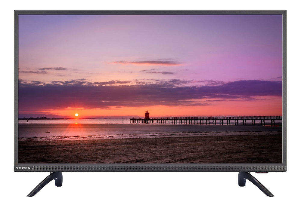 Телевизор Supra STV-LC32LT0013W LED 32' Titanium, 16:9, 1366x768, 100000:1, 260 кд/м2, USB, VGA, 3xHDMI, AV, DVB-T, T2, C телевизор erisson 32lea20t2 led 32 black 16 9 1366x768 smart tv 1000 1 240 кд м2 2xusb vga 3xhdmi scart dvb t t2 c