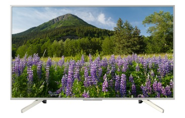 Телевизор LED 55 SONY KD-55XF7077 Телевизор 4K HDR с технологией 4K X-Reality™ PRO, ClearAudio+, Smart TV, серебристый r tv box pro amlogic s912 android 6 0 4k tv box rii i8 black
