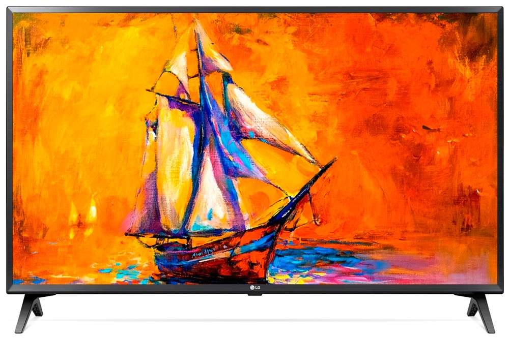 Телевизор LG 43LK5400 LED 43 Black, 16:9, 1920x1080, Smart TV, USB, 2xHDMI, AV, WiFi, RJ-45, DVB-T, T2, C, S, S2 телевизор lg 32lj610v black