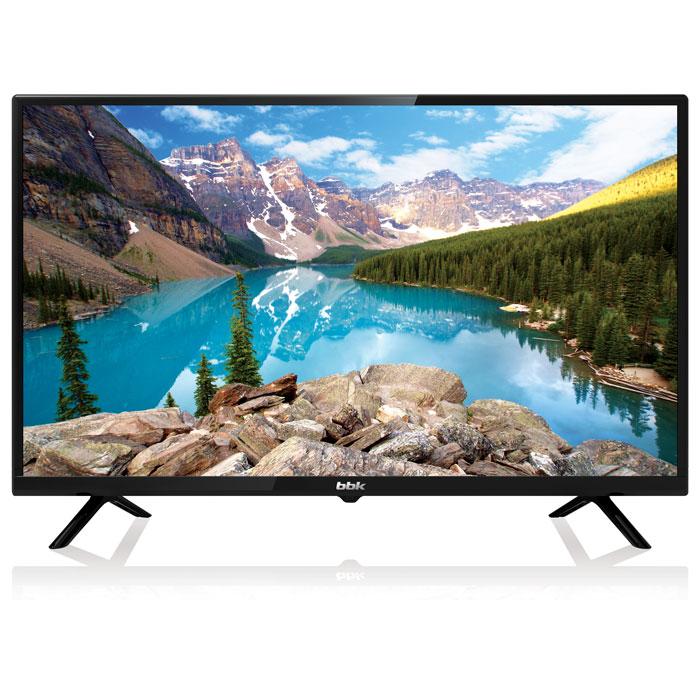 Телевизор LED 28 BBK 28LEM-1050/T2C черный HD Ready, 16:9, DVB-T2, USB, HDMI led телевизор bbk 49lem 1048 fts2c r 49 full hd 1080p черный