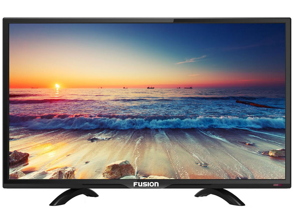 Телевизор LED 24 FUSION FLTV-24H110T Full HD, HDMI, USB, DVB-T2 фен 03222 hd 3900 fusion 1900w