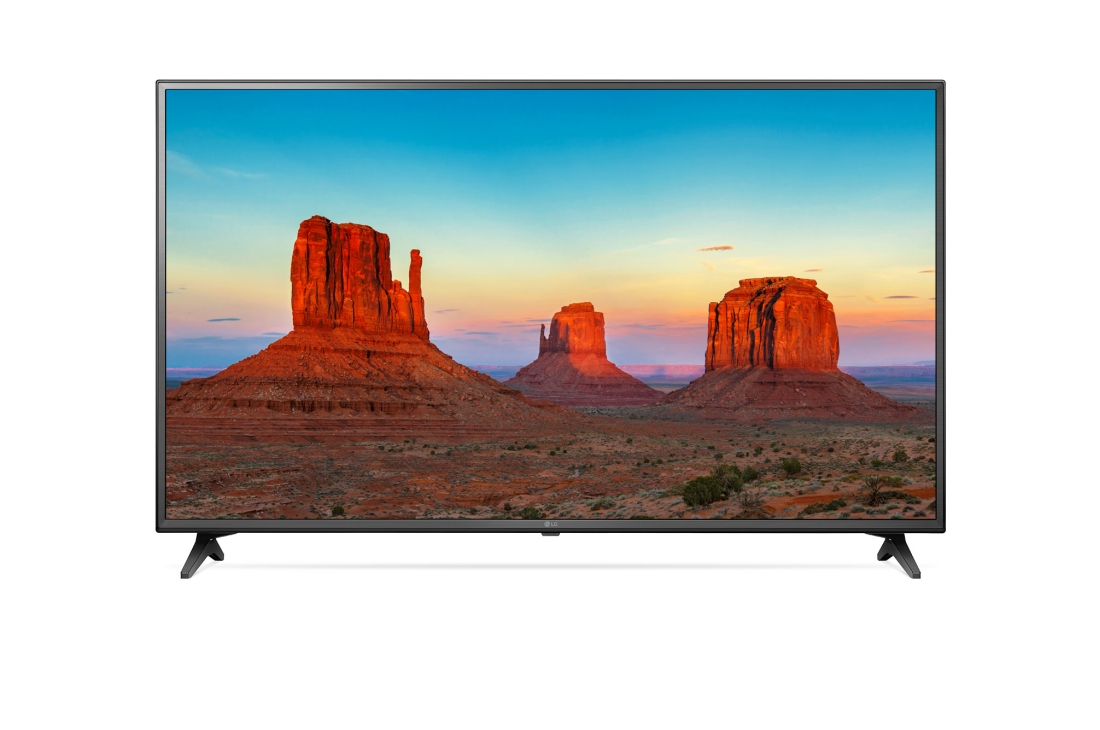 Телевизор LG 60UK6200 LED 60 Black, 16:9, 3840x2160, Smart TV, USB, 3xHDMI, AV, RJ45, WiFi, DVB-T, T2, C, S, S2