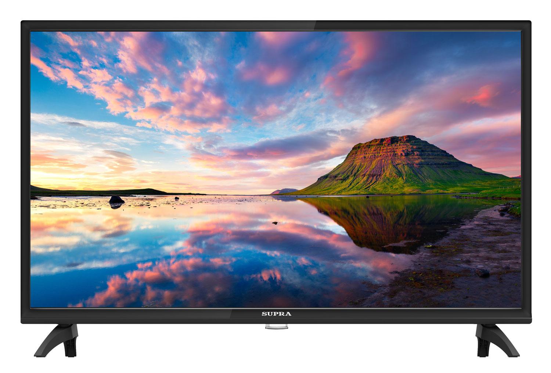 Телевизор SUPRA STV-LC32LT0080W LED 32 Black, 16:9, 1366x768, 100000:1, 220 кд/м2, USB, 2xHDMI, AV, DVB-T, T2, C, S, S2
