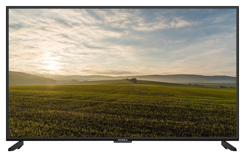 Телевизор Supra STV-LC55ST3000U LED 55 Black, 16:9, 3840x2160, Smart TV, 120000:1, 330 кд/м2, 2xUSB, 3xHDMI, AV, RJ-45, Wi-Fi, DVB-T2, S2, C