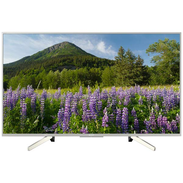 цена на Телевизор LED 49 SONY KD-49XF7077 49' Телевизор 4K HDR с технологией 4K X-Reality™ PRO, ClearAudio+, Smart TV, серебристый