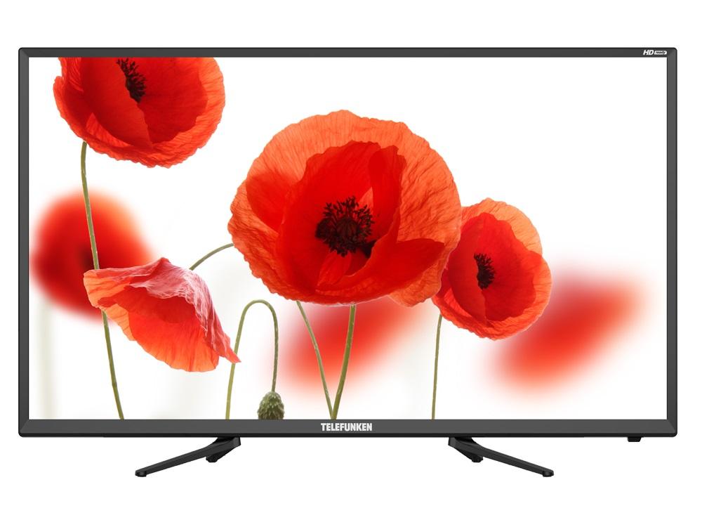 Телевизор Telefunken TF-LED32S73T2 LED 32 Black, 16:9, 1366x768, 3000:1, 280 кд/м2, USB, AV, 2xHDMI, SCART, DVB-T, T2, C