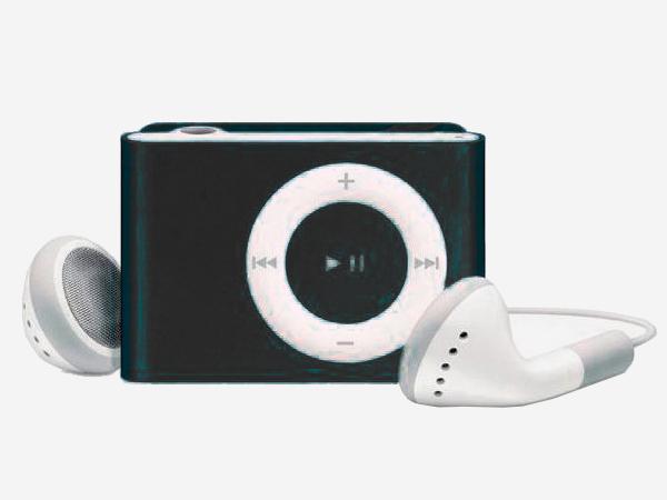 Цифровой аудио плеер Perfeo Music Clip Titanium, чёрный (VI-M001 Black) music clip staff page clip with music pattern