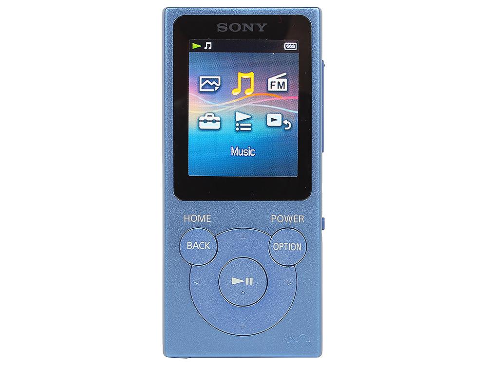 Плеер Sony NW-E394 голубой sony nw e394