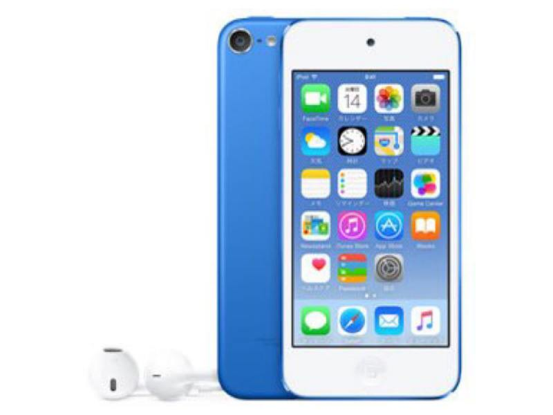 Плеер Apple iPod Touch 6 32Gb MKHV2RU/A синий