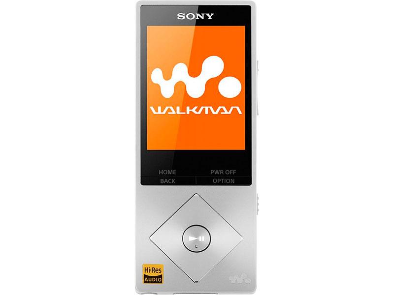 Плеер Sony NWZ-A17 серебристый