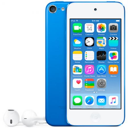 Плеер Apple iPod touch 128Gb MKWP2RU/A синий mp3 плеер cowon plenue 1 128gb gold