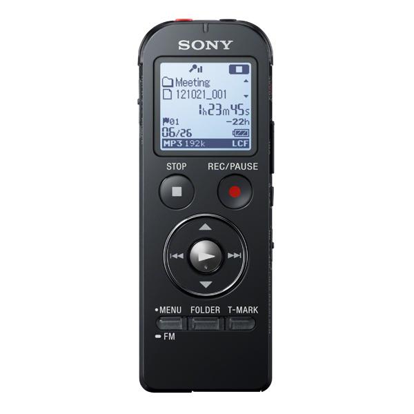 Диктофон Sony ICD-UX533 (4Гб, запись MP3, слот microSD,чёрный) от OLDI