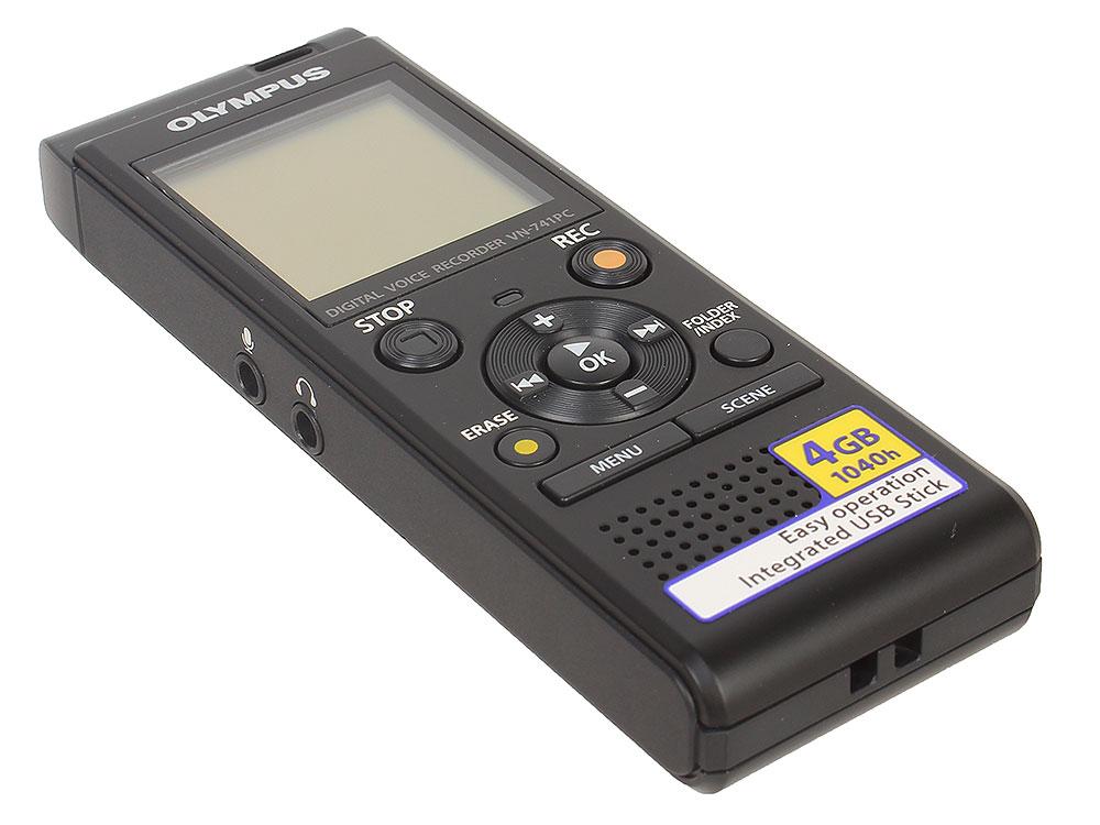 Диктофон Olympus VN-741PC Grey Цифровой диктофон, 4Гб, USB цифровой диктофон digital boy 4 usb ur08