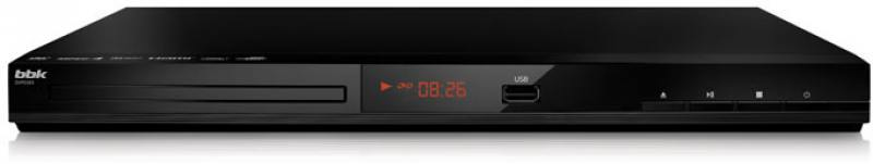 Проигрыватель DVD BBK DVP036S черный проигрыватель dvd bbk dvp953hd