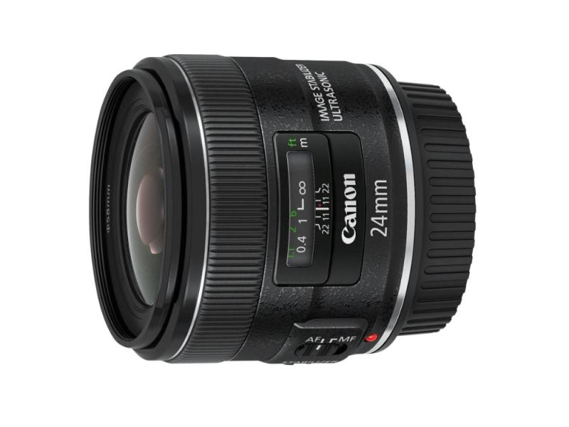 Объектив Canon EF 24mm F/2.8 IS USM 5345B005 объектив canon ef 24mm f 2 8 is usm черный