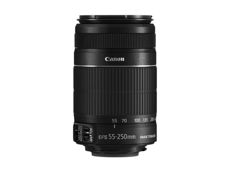 Объектив Canon EFS 55 - 250мм F/4.0-5.6 IS STM 8546B005 slr объектив uv canon efs 18 200mm f 3 5 5 6 is