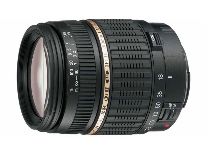 Объектив Tamron AF 28-200мм F/3.5-6.3 XR Di LD Asphericall IF макро для Nikon