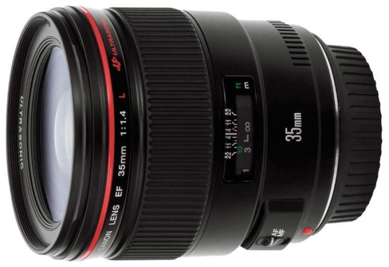 Объектив Canon EF 35mm 1.4L USM 2512A011