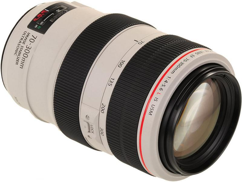 Объектив Canon EF 70-300mm F/4-5.6L IS USM 4426B005 объектив canon ef 70 300mm f 4 5 6l is usm