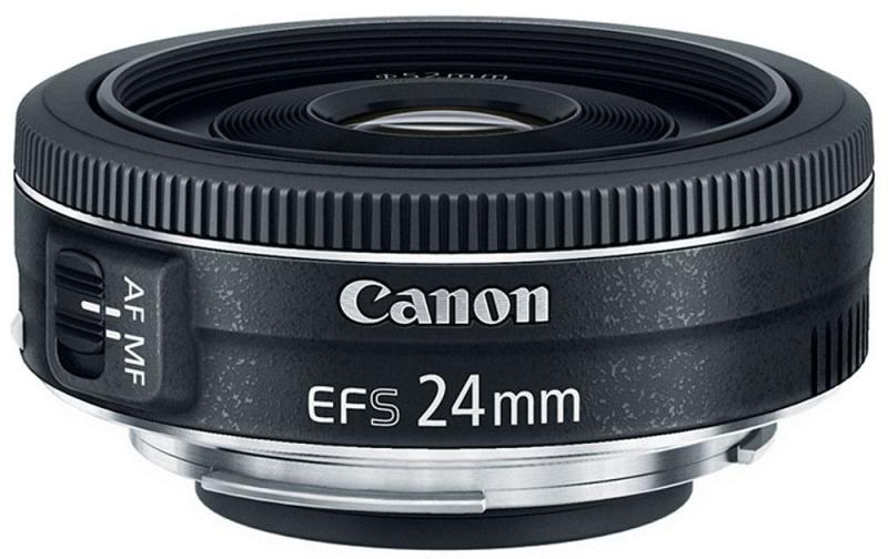 Объектив Canon EF-S 24 F2.8 USM 9522B005 объектив canon ef 24mm f 2 8 is usm черный