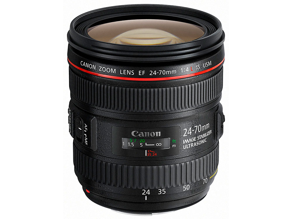 Объектив Canon EF 24-70mm f/4L IS USM 6313B005 canon 24 105mm f4 lens canon ef 24 105 mm f 4l is usm lenses