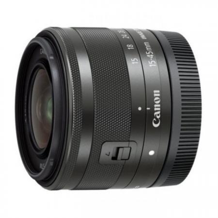 Фото - Объектив Canon EF-M STM 15-45mm f/3.5-6.3 черный 0572C005 объектив canon ef m stm 28мм f 3 5 macro черный 1362c005