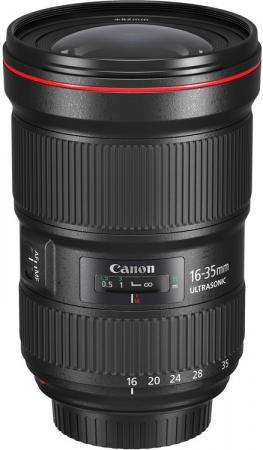 Объектив Canon EF III USM 16-35мм f/2.8L 0573C005 объектив canon ef is usm 9518b005 16 35мм f 4 черный