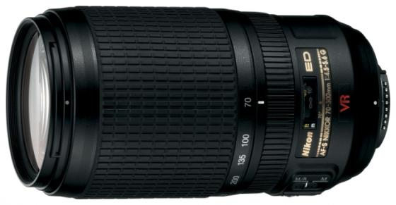 Объектив Nikon AF-P VR ED 70-300мм f/4.5-6.3 JAA829DA объектив nikon af p dx nikkor 70 300 mm f 4 5 6 3g ed vr