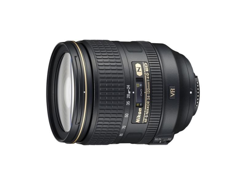 Объектив Nikon 24-120mm f/4G ED VR AF-S Nikkor JAA811DA af s vr zoom nikkor 70 300мм f 4 5 5 6g if ed