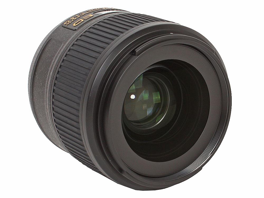 Объектив Nikon AF-S 35mm f/1.8G ED Nikkor объектив nikon af s nikkor 50 мм f 1 8g