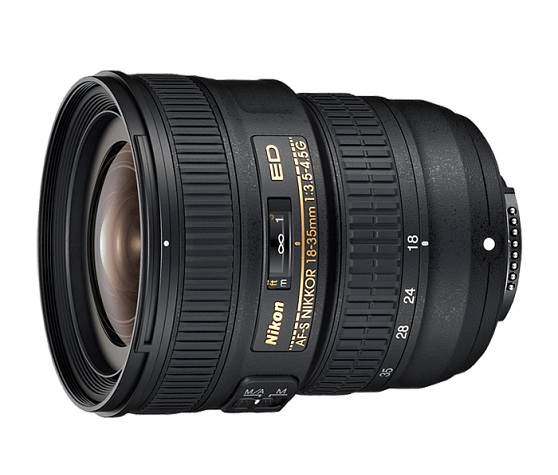 Объектив Nikon AF-S 18-35mm f/3.5-4.5G ED Nikkor объектив nikon 10 100mm f 4 0 5 6 vr nikkor 1 черный