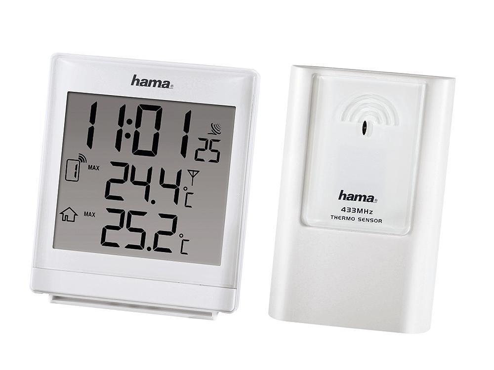 Погодная станция Hama EWS-870 H-113984 электронная, белая