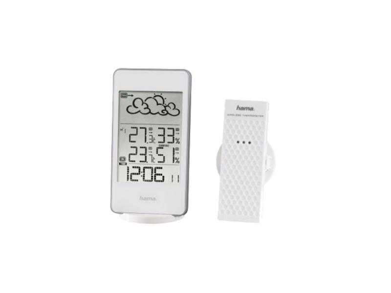Метеостанция Hama H-123125 EWS-860 белый метеостанция цифровая hama ews 800 h 76045