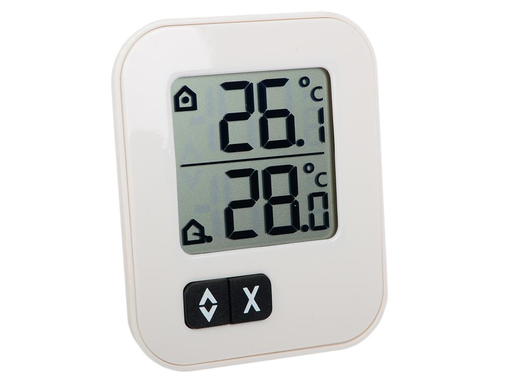 Цифровой термометр TFA 30.1043.02 EK белый tfa 351049 matrix ii