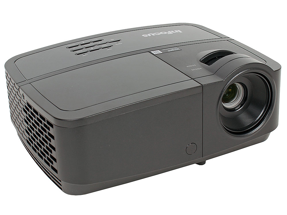 Мультимедийный проектор INFOCUS IN112x (Full 3D) DLP, 3200 ANSI Lm, SVGA, 15000:1, 2W, HDMI 1.4, 2xVGA,Composite, S-video, RS232, Mini USB pc laptop composite video tv rca composite s video av in to pc vga lcd out converter adapter switch box black us plug wholesale